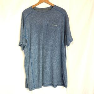 EB t2xl blue motion free dry athletic shirt Tee